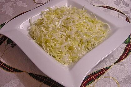 Krautsalat - wie im griechischen Restaurant