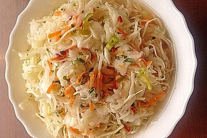 Krautsalat - wie im griechischen Restaurant 38