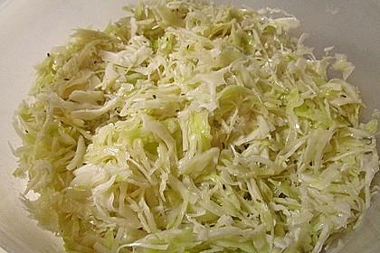 Krautsalat - wie im griechischen Restaurant 8