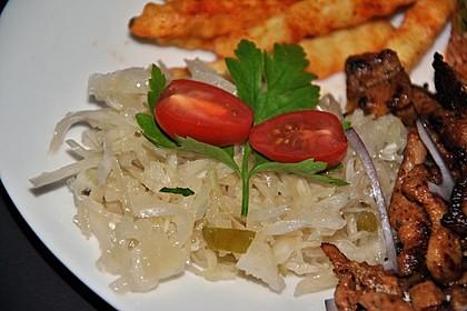 Krautsalat - wie im griechischen Restaurant 13