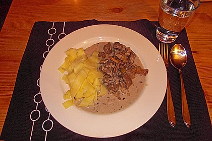 Pappardelle mit Wildschwein 1