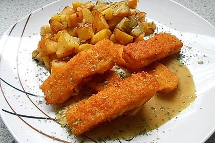 Fischstäbchen-Pfanne