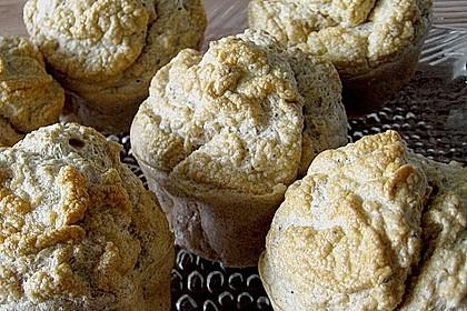 Fettfreie Zitronen - Mohn Muffins 2