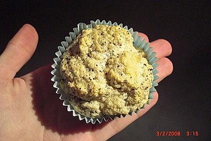 Fettfreie Zitronen - Mohn Muffins 3