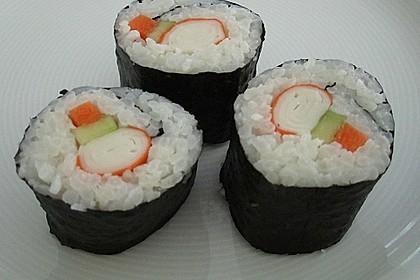 Leckere Maki - Sushi mit Surimi 2