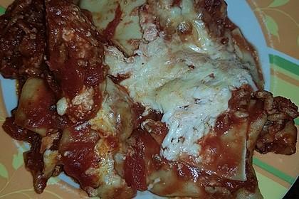 Leichte Lasagne Bologneser Art 10