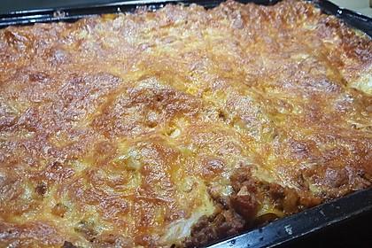 Leichte Lasagne Bologneser Art 3