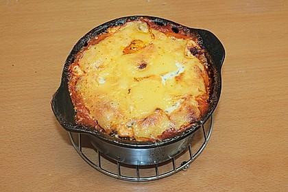 Leichte Lasagne Bologneser Art 7
