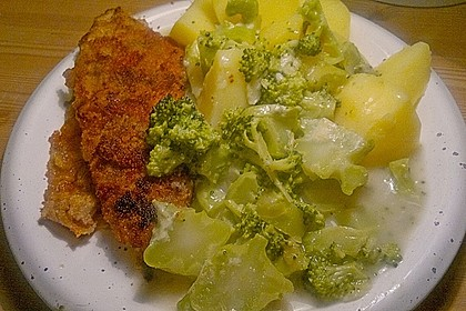 Lachs - Brokkoli - Sahne - Sauce 8