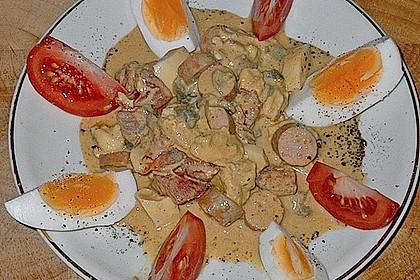 Eier - Tomaten - Mozzarella Salat