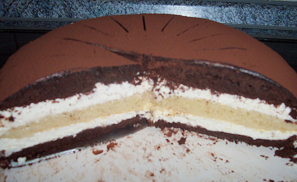Kuchen der 3 tage durchziehen muss