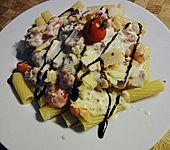 Spaghetti mit Frischkäse - Thunfisch - Sauce (Bild)