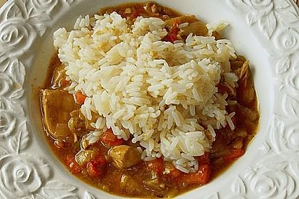 Asia - Hähnchenbrust in pikanter Gemüse - Sauce 2