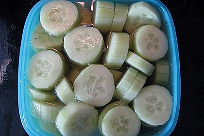Senfgurken süß - sauer 36