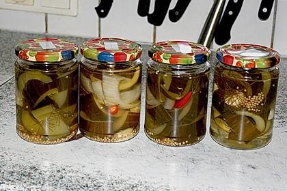 Senfgurken süß - sauer 10