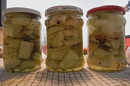 Senfgurken süß - sauer 13