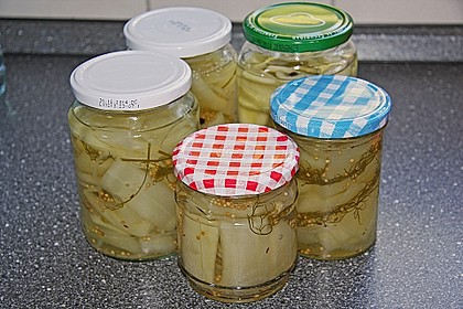 Senfgurken süß - sauer 12