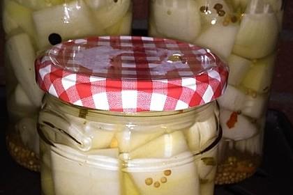 Senfgurken süß - sauer 19