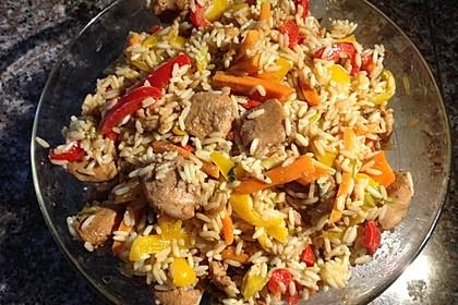 Asiatischer Reissalat 1