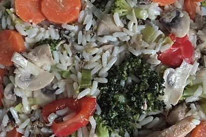 Asiatischer Reissalat 6
