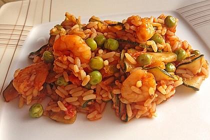 Portugiesische Reispfanne