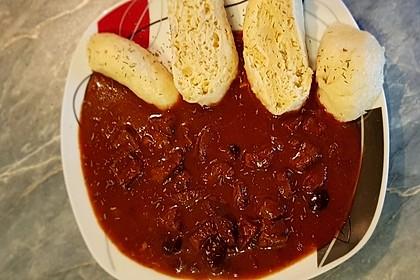 Schoko - Gulasch aus Rindfleisch 5