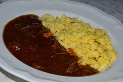 Schoko - Gulasch aus Rindfleisch 7
