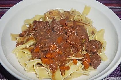 Schoko - Gulasch aus Rindfleisch 8