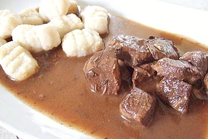 Schoko - Gulasch aus Rindfleisch 6