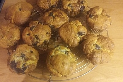 Mile high Blueberry Muffins 83