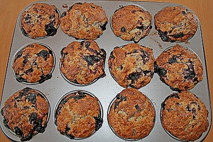 Mile high Blueberry Muffins 99