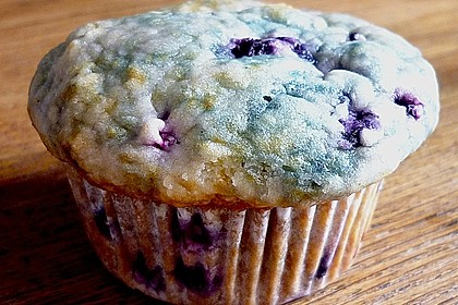 Mile high Blueberry Muffins 105