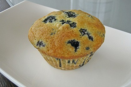 Mile high Blueberry Muffins 10