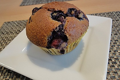 Mile high Blueberry Muffins 82