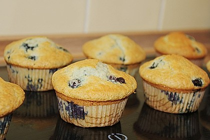 Mile high Blueberry Muffins 18