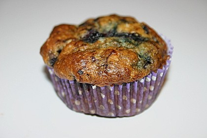 Mile high Blueberry Muffins 176