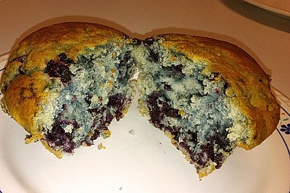 Mile high Blueberry Muffins 133