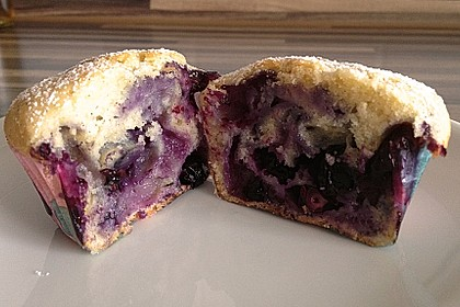 Mile high Blueberry Muffins 76