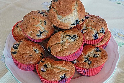 Mile high Blueberry Muffins 50