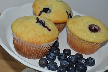 Mile high Blueberry Muffins 12