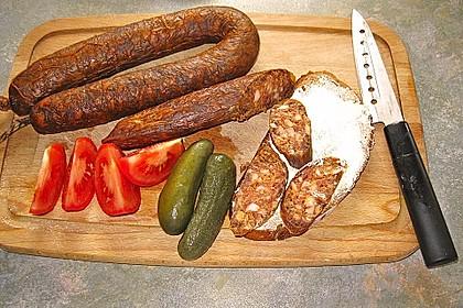 Knackwurst mit Paprika