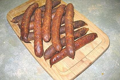 Knackwurst mit Paprika 1