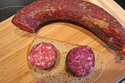 Knackwurst mit Paprika 3