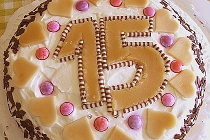 7 - Jahres - Torte 4