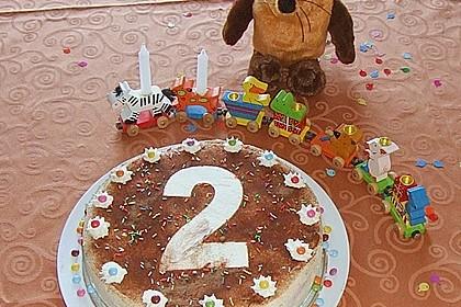 7 - Jahres - Torte 3
