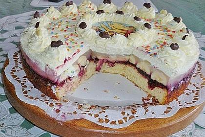 7 - Jahres - Torte 5