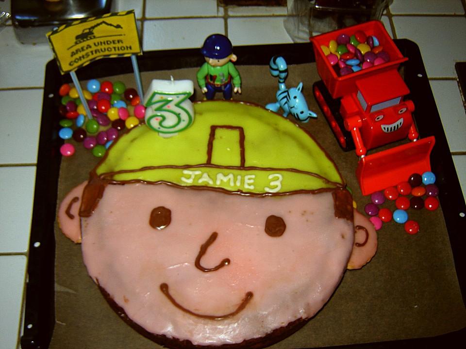 Bob der Baumeister - Torte (Rezept mit Bild) von justin ...