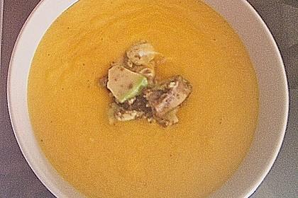 Möhrensüppchen mit Ingwer und Avocado 33