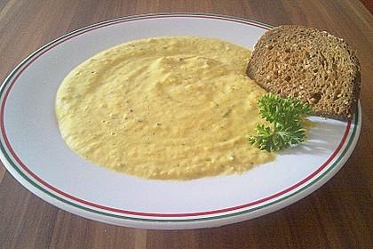 Möhrensüppchen mit Ingwer und Avocado 21