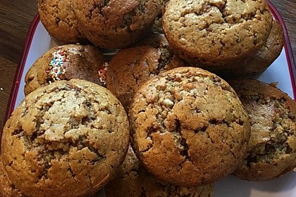 Schoko - Nuss Muffins 5